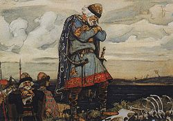 1899. Russian konung Oleg by Vasnetsov-2.jpg