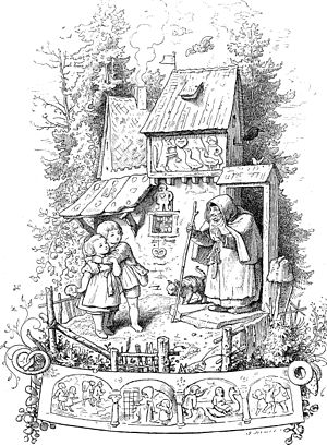 Hansel and Gretel - Illustration by Ludwig Richter, 1842