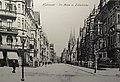 1905 circa Ansichtskarte Hannover, Im Moore Ecke Asternstraße, Blick Richtung Lutherkirche.JPG