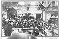 1910-01-27, Actualidades, Tribuna de los actores junto al teatro de Apolo, Alba.jpg