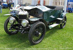 Sports car - 1910-1914 Prince Henry Vauxhall—3-litres