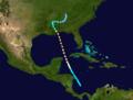 1916 Atlantic hurricane 1 track.png