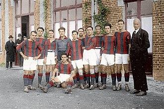 1924–25 Prima Divisione - Image: 1924–25 Bologna Football Club