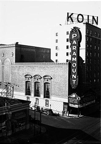 Arlene Schnitzer Concert Hall - Paramount Theatre in 1939
