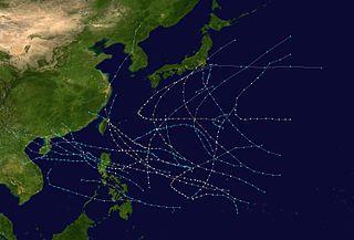 1948 Pacific typhoon season typhoon season in the Pacific Ocean