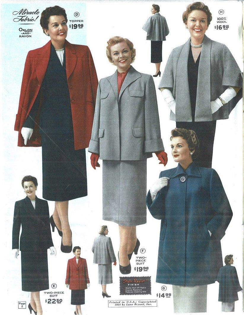 1954 Lane Bryant catalog