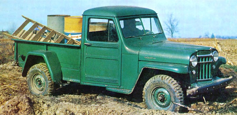 File 1956 Willys Jeep Pickup Jpg Wikimedia Commons