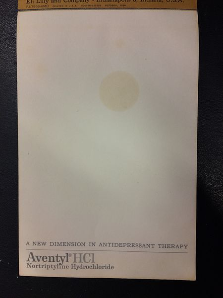File:1964 Aventyl promotional notepad interior pages.jpg