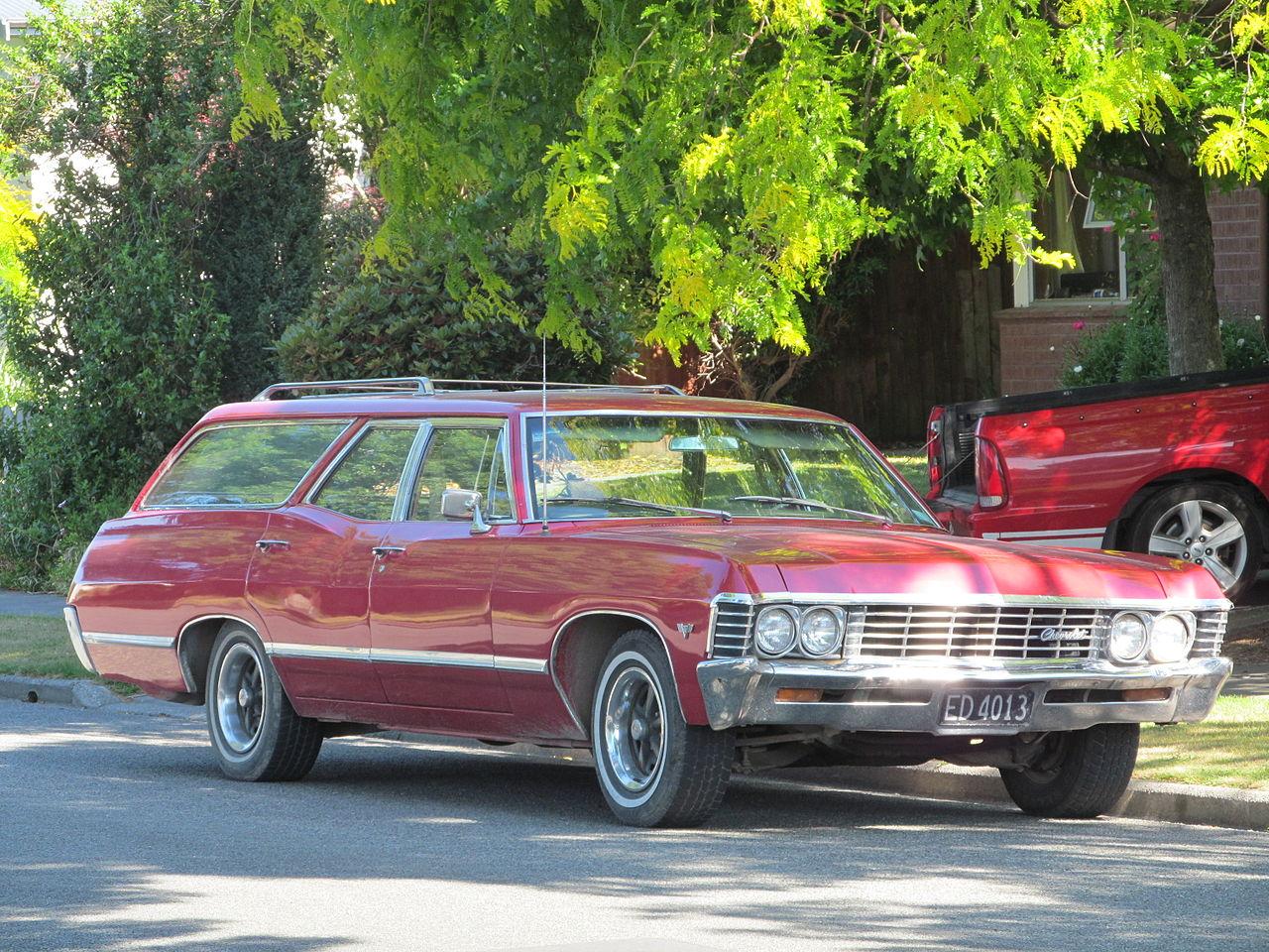 Chevrolet chevrolet station wagon : File:1967 Chevrolet Impala Station Wagon (11398784395).jpg ...