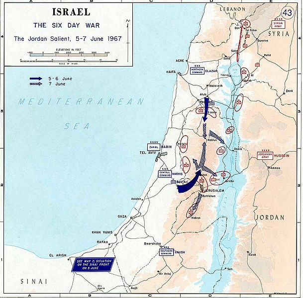 File:1967 Six Day War - The Jordan salient.jpg