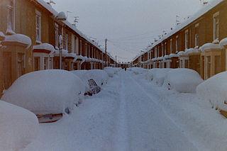 1987 United Kingdom and Ireland cold wave January 1987 snowfalls in England, UK
