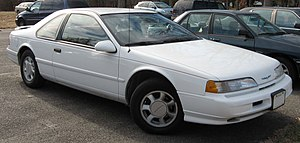 Ford Thunderbird (tenth generation) - Image: 1989 1995 Ford Thunderbird