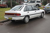1990 Ford Laser (KF) Ghia 5-door hatchback (21350392699).jpg