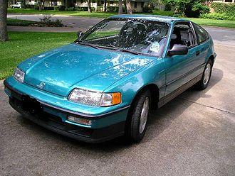 Honda CR-X - 1991 Honda CRX Si in Tahitian green
