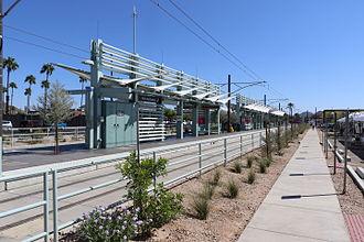 Valley Metro Rail - Dunlap Avenue station