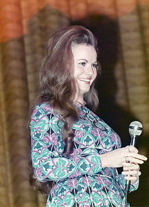 Jeannie C. Riley - Riley at the Civic Center, Lansing, Michigan on February 4, 1973