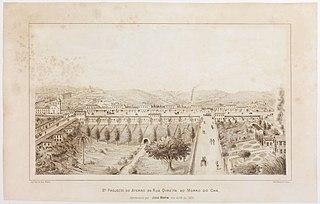 2º Projecto do Aterro da Rua Direita ao Morro do Chá, Apresentado por Jules Martin em Abril de 1879