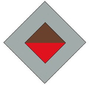 2/23rd Battalion (Australia) - Image: 2 23rd Battalion original colour patch