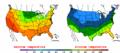 2002-09-24 Color Max-min Temperature Map NOAA.png