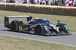 La Bentley Speed 8 victorieuse des 24 Heures du Mans 2003 au festival de vitesse de Goodwood en 2009.