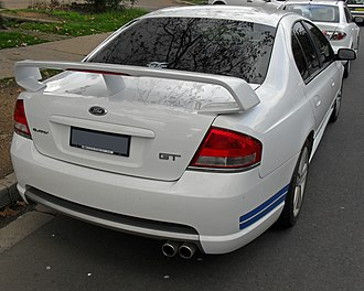 Ford Performance Vehicles - Image: 2003 2004 FPV GT Boss 290 (BA) 01