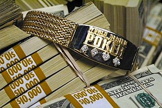World Series of Poker bracelet award