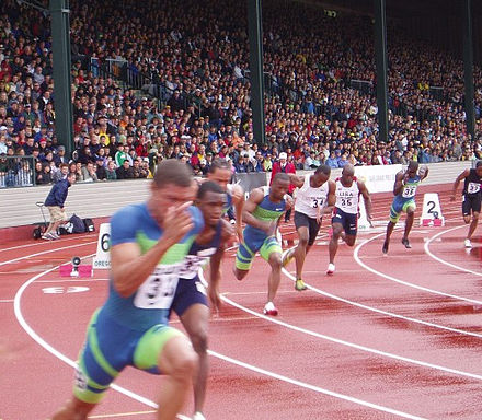Runners competing at the 2006 Prefontaine Classic meeting - Track and field