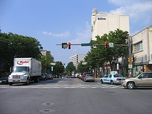 U.S. Route 29 in Maryland - US 29 as Colesville Road in Silver Spring