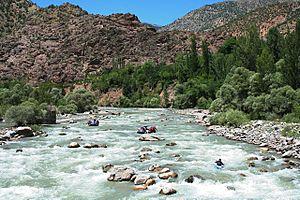 Çoruh River - Image: 2007 06 Çoruh rafting