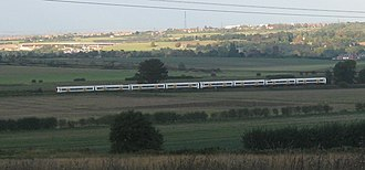 Chatham main line - Image: 2007 10 05 class 375 electrostar 8car near farningham road 01 jamie clarke