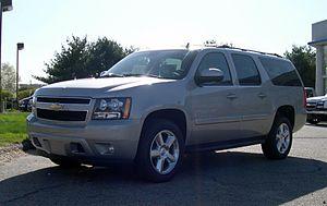 GMT900 - Image: 2007 Chevrolet Suburban