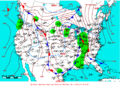 2009-03-25 Surface Weather Map NOAA.png