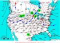 2009-04-24 Surface Weather Map NOAA.png