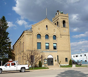 Dauphin, Manitoba - The Watson Arts Centre was built in 1905 to house the town hall, fire station and RCMP detachment.