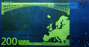 200 euro note - Reverse
