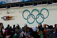 2010 Winter Olympics Julia Clukey in luge.jpg