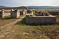 2011-10-15. Aquis Querquennis - Galiza - Porta principal esquerda desde o exterior - AQ43.jpg
