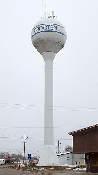 Brooten, Minnesota - Brooten water tower