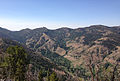 2013-08-02 10 32 33 Upper portion of the Jarbidge River Canyon, Nevada, viewed from the western slopes of the main Jarbidge Mountain crest-cropped.jpg