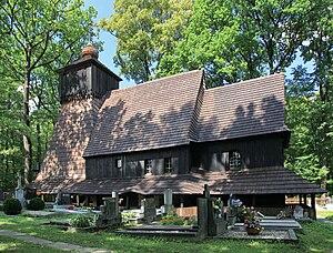 Guty (Třinec) - Corpus Christi Church in Guty