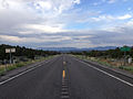 2014-07-18 18 56 40 View east along U.S. Route 6 at the border between Nye County and White Pine County, Nevada.JPG