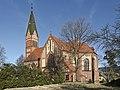 2014 Jaszkowa Dolna, kościół św. Jana Chrzciciela 01.JPG