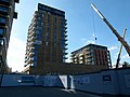 2015 London-Woolwich, Cannon Square construction site 14.jpg