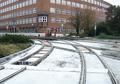 2016-10-16 road works at Berliner Platz (concrete-cast new track 2).png
