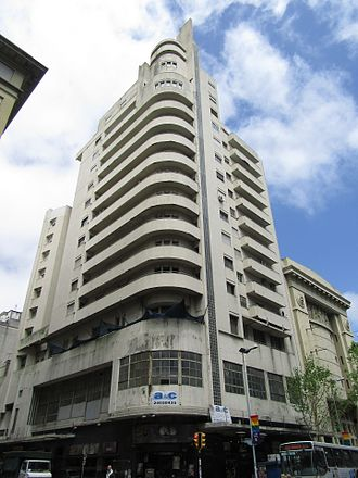 Edificio Lapido - Palacio Lapido in 2016.