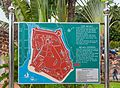 2016 Malakka, Mapa Twierdzy Malakka.jpg
