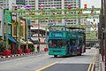 2016 Singapur, Chinatown, Ulica South Bridge, Autobus wycieczkowy (01).jpg