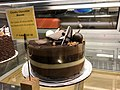 2018-03-13 00 47 03 A chunky chocolate mousse cake on display at the Amphora Diner in Herndon, Fairfax County, Virginia.jpg