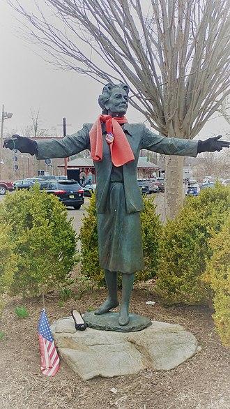 "Bernardsville, New Jersey - Millicent Fenwick, the ""grand dame"" of Bernardsville, always elegant"
