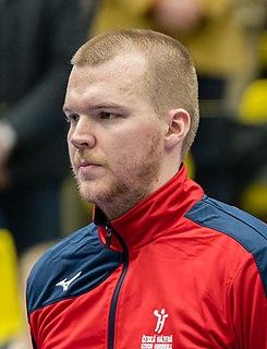 Tomáš Mrkva Czech handball player